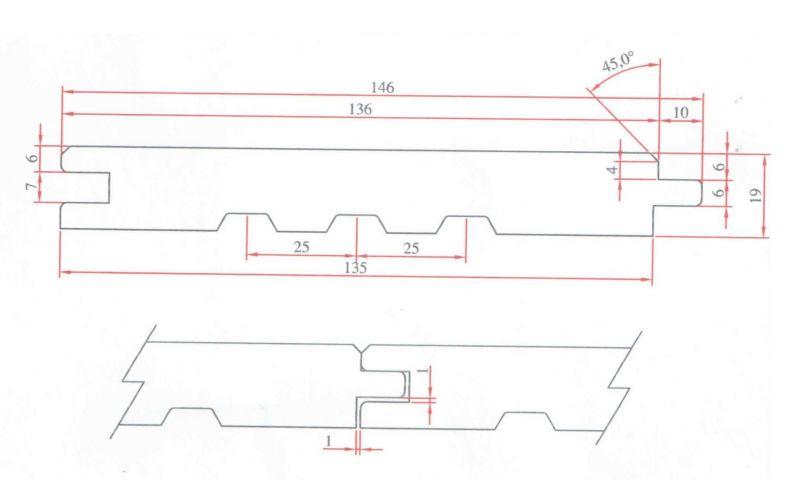 Deska elewacyjna faza 19x146 -